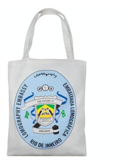 Sacola De Algodão Embaixada Lomográfica Rio De Janeiro