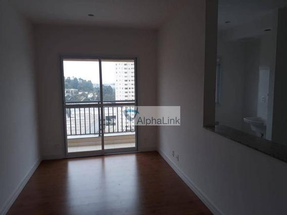 Apartamento Com 3 Dormitórios Para Alugar, 73 M² Por R$ 2.800,00/mês - Tamboré - Barueri/sp - Ap1701