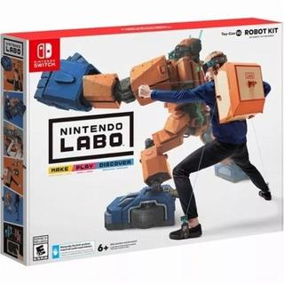 Nintendo Labo - Kit Robot Nintendo Switch Envio Gratis