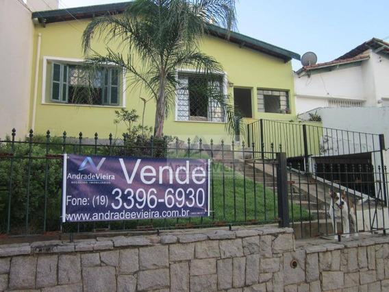 Casa Com 2 Dormitórios A Venda, 180 M² Por R$ 480.000 - Taquaral - Campinas/sp - Ca0327
