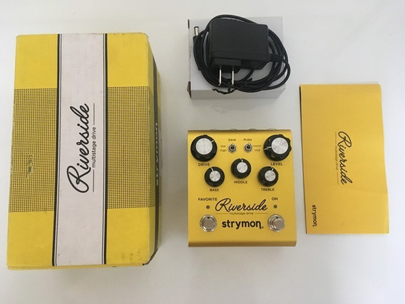 Pedal Strymon Riverside Multistage Overdrive - Na Caixa