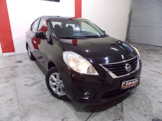 Nissan Versa Sl 1.6 Flex 2014 + Rodas (top Linha)