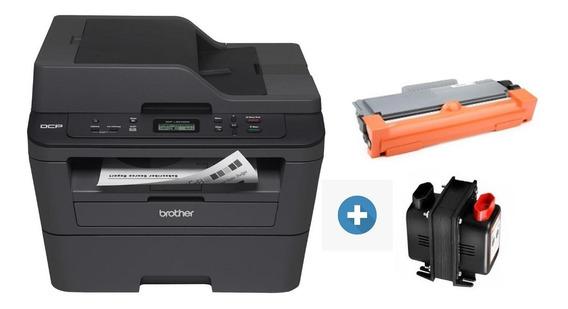 Scanner Copiadora Impressora Multifuncional Brother Dcp-l2540dw + Toner Extra + Transformador Voltagem