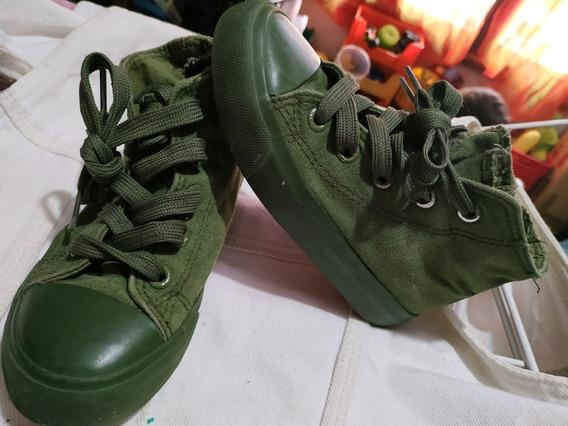 Zapatillas Lona Con Cierres Cheeky