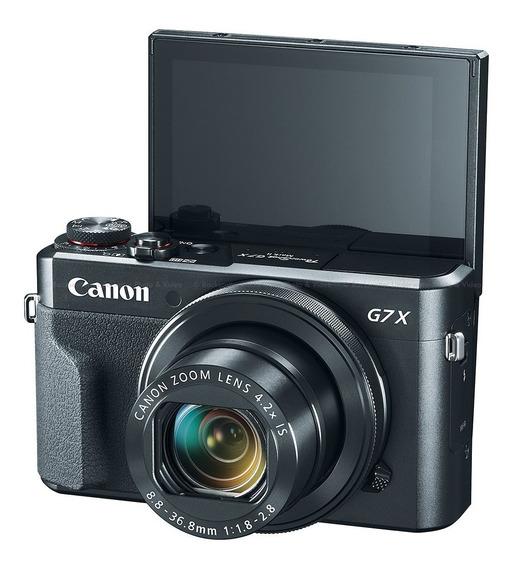 Canon G7x Mark Ii + 1 Bateria Original Extra + Brinde