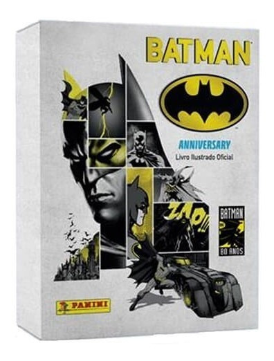 Livro Box Premium Batman 80 Anos + 48 Cards + Hq