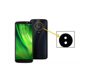 Lente Camara Trasera Motorola Moto G6 Play + Kit Desarme