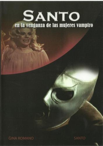 Santo En La Venganza De Las Mujeres Vampiro Dvd Película