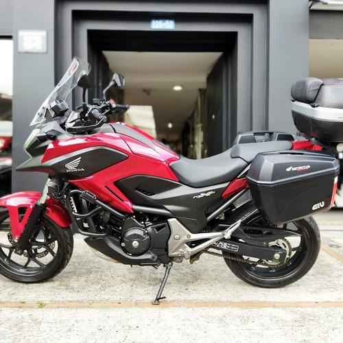 Honda Nc 750 Xd Roja  2014