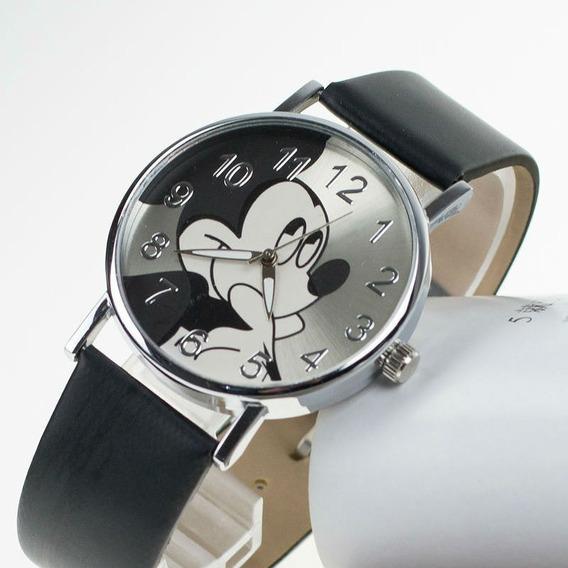 Relógio De Pulso Mickey Mouse Masculino Feminino R561