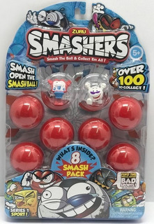 Zuru Smashers Blister Coleccionables X 8 Art 7403 Loonytoys