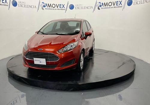 Imagen 1 de 12 de Ford Fiesta 2018 1.6 Se Sedan Mt