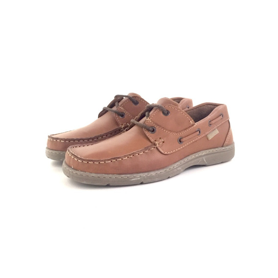 Scarpino 230. Nautico De Cuero El Mercado De Zapatos!