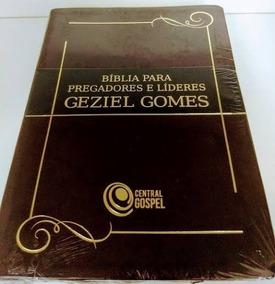Bíblia Para Pregadores E Líderes Marrom - Geziel Gomes