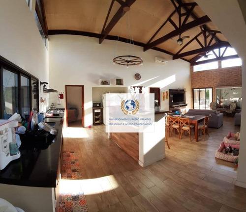 Chácara Com 3 Dormitórios À Venda, 1900 M² Por R$ 1.500.000,00 - Loteamento Chácaras Vale Das Garças - Campinas/sp - Ch0087