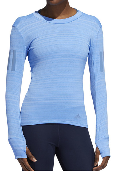 Remera adidas Running Rise Up W Mujer Clm