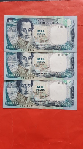 Mil Pesos 1995 Colombia.