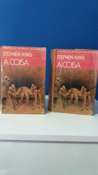 Livros It A Coisa Stephen King Edição Rara Mestres Do Horror