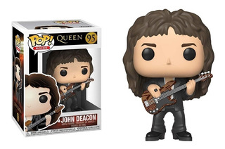 Funko Pop Rocks Queen John Deacon 95 Original!!