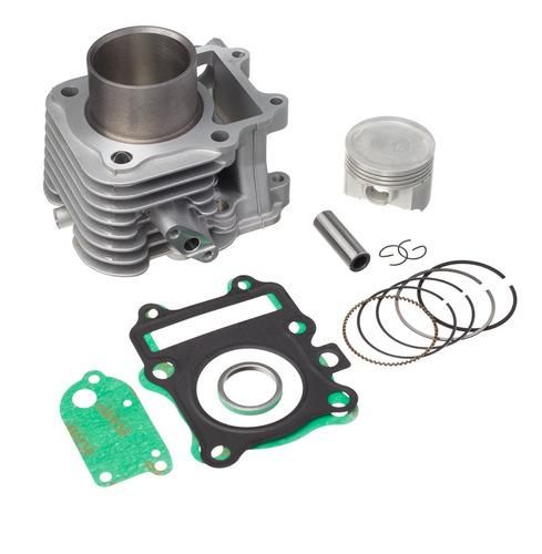 Imagem 1 de 1 de Kit Premium C/cilindro Pistao Junta Kmp.anel Rik Cg 150 /220