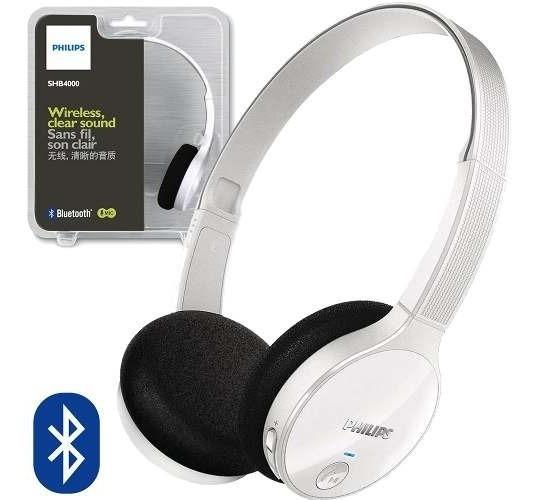 Fone De Ouvido Wireless Estéreo Shb4000 Philips O F E R T A