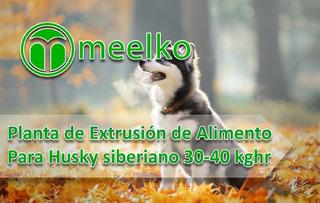 Planta De Extrusión De Alimento Para Husky Siberiano Meelko