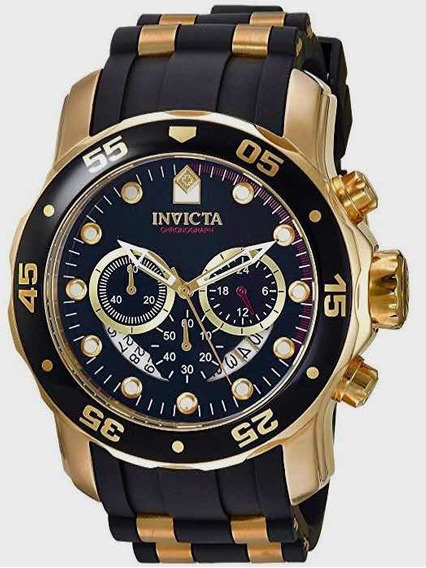 Relógio Invicta Pro Diver 6981 Cronógrafo Suíço Analógico