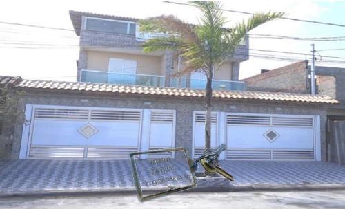 Casa A Venda No Bairro Balneário Maracanã Em Praia Grande - 3738-1