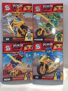 Ninja Go Simil Lego , Alternativo , Generico Pack X 4
