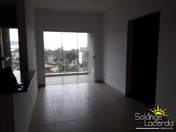 2 Dormitórios, Varanda Gourmet, Piscina, Vista Para O Mar - 6034