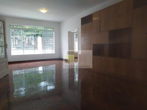 Casa Com 3 Dormitórios Para Alugar, 250 M² Por R$ 6.500/mês - Alto Da Lapa - São Paulo/sp - Ca0136