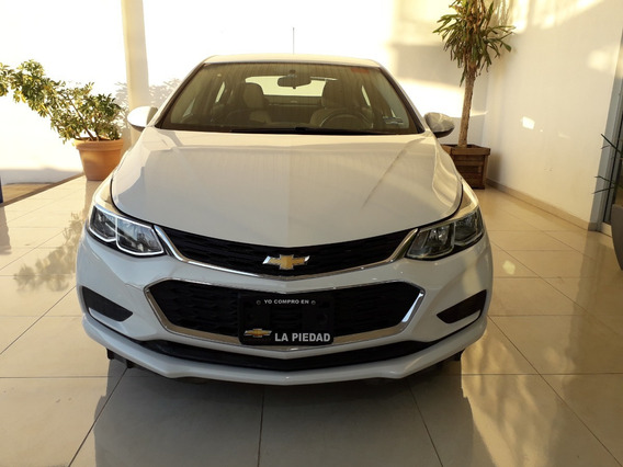 Cruze 2017 Blanco Chevrolet Ls Paq. B T/a