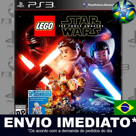Lego Star Wars The Force Awakens Ps3 Psn Dublado Português