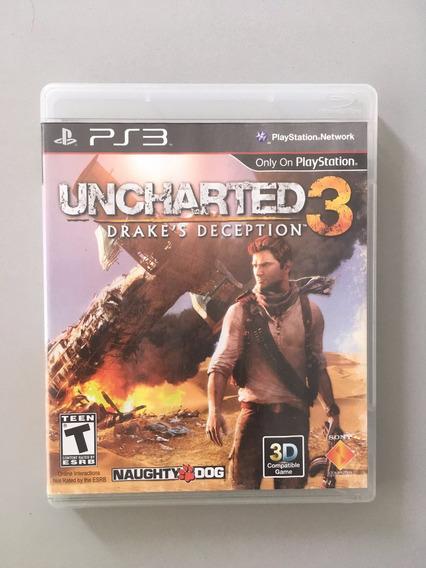 Uncharted 3 - Midia Fisica - Ps3 Original