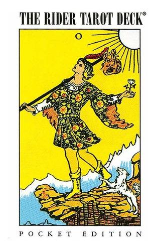 Imagen 1 de 9 de Tarot Rider Pocket (bolsillo) Este Tarot Esta En Ingles