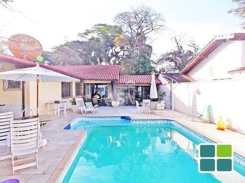Imagem 1 de 16 de Casa Com Piscina E  4 Dormitórios À Venda, 300 M² Por R$ 1.400.000 - Bosque Da Praia - Rio Das Ostras/rj - Ca0470