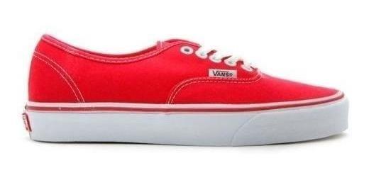 Tenis Vans- Authentic- Rojo-unisex- 0ee3red
