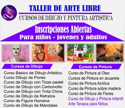 Clases Dibujo/pintura A Niños-jovenes-adultos En Lima