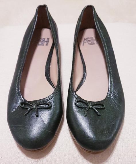 Zapatos Chatitas Para Mujer De Cuero Marca Ash.