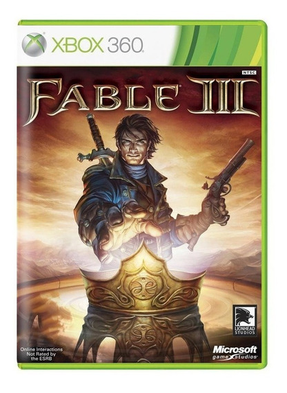 Fable 3 - Xbox 360 - Usado - Original