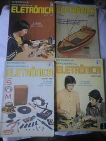 Lote 15 Revistas De Eletronica Experiencias E Outras