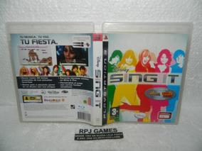 Sing It Original Midia Fisica Completa P/ Ps3 - Loja Rj