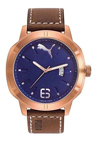 Reloj Analogico Puma Pu104261001 Acero Inoxidable Elegante