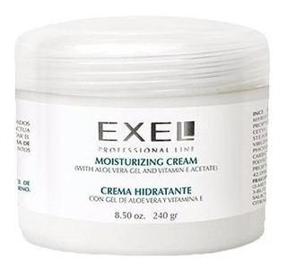 Crema Hidratante Facial Exel Aloe Vera Vitamina E X 240gr
