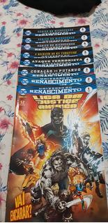 Liga Da Justiça Da América - Renascimento - Edições 1 A 8