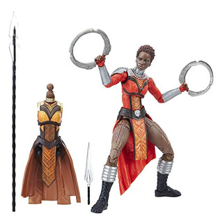 Figura Acción Nakia La Pantera Negra Marvel Legends Series 6