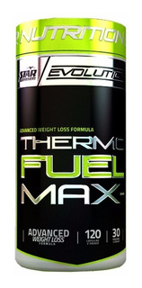 Quemador De Grasa Thermo Fuel 120 Caps. Star Nutrition