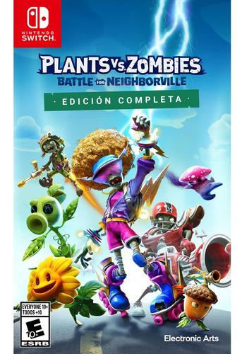 Imagen 1 de 10 de Plants Vs. Zombies: Battle For Neighborville Form Físico Nsw