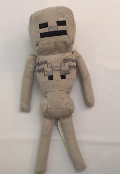 Boneco Urso Pelucia Minecraft Geek Gamer Youtuber Decoração