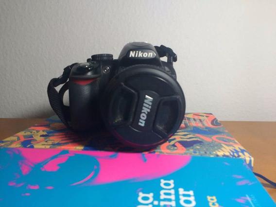 Nikon 3100 + Lente 18-55mm Não D90 D7000 D7100 T3i T5i